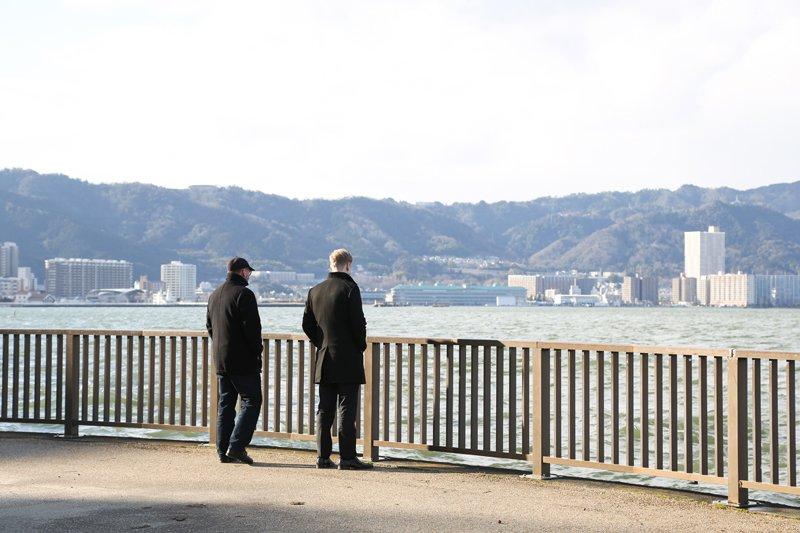 「大津湖岸なぎさ公園」の風景